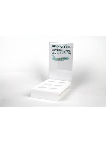 Aeropuffing Displey - пустой дисплей на 6 гель-лаков