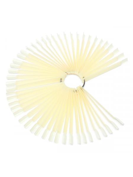 Палитра для лаков и дизайна матовая, веерная на 50 цветов