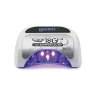 GELISH, профессиональный LED аппарат 36 Вт, 18G Plus with Comfort Cure LED Professional Light