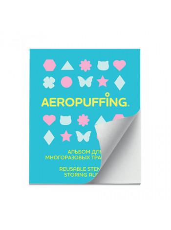 Aeropuffing, альбом для многоразовых трафаретов. 20 листов