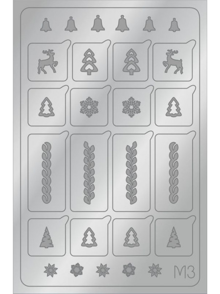 Aeropuffing Metalliс Slider, M03s - металлизированная наклейка