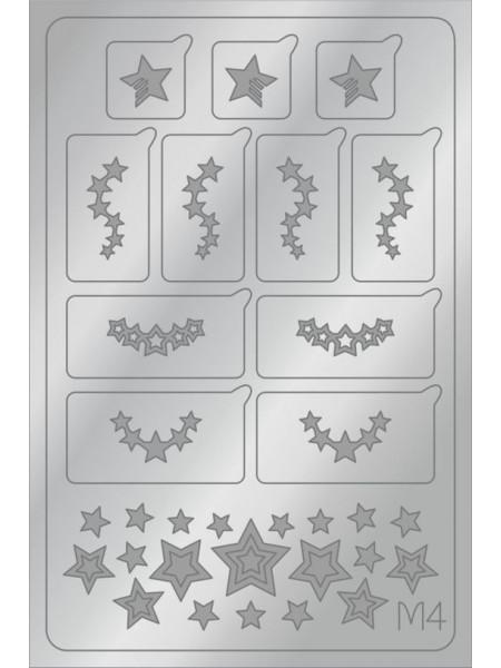 Aeropuffing Metalliс Slider, M04s - металлизированная наклейка
