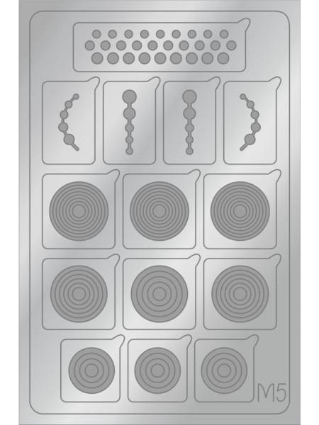 Aeropuffing Metalliс Slider, M05s - металлизированная наклейка
